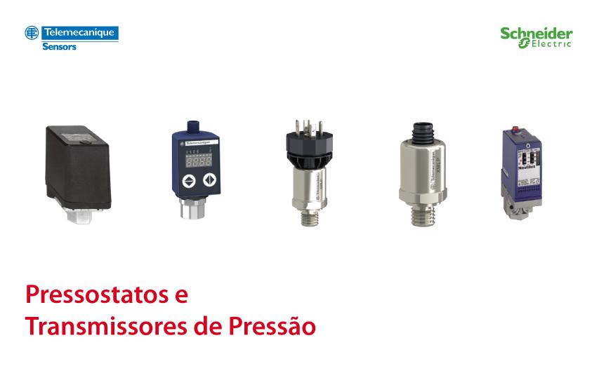 Schneider transmissores pressão