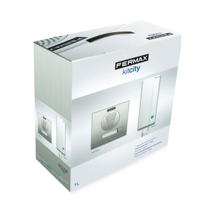 Fermax - Kit Porteiro City 4+N 1/INQ - 4860