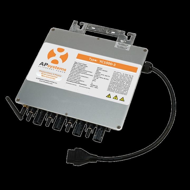 APSystems Microinversor Trifásico YC1000-3