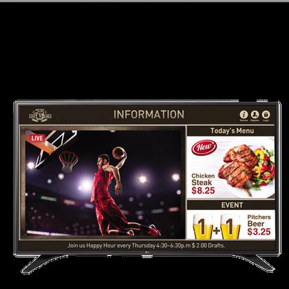 LG Smart TV Signage