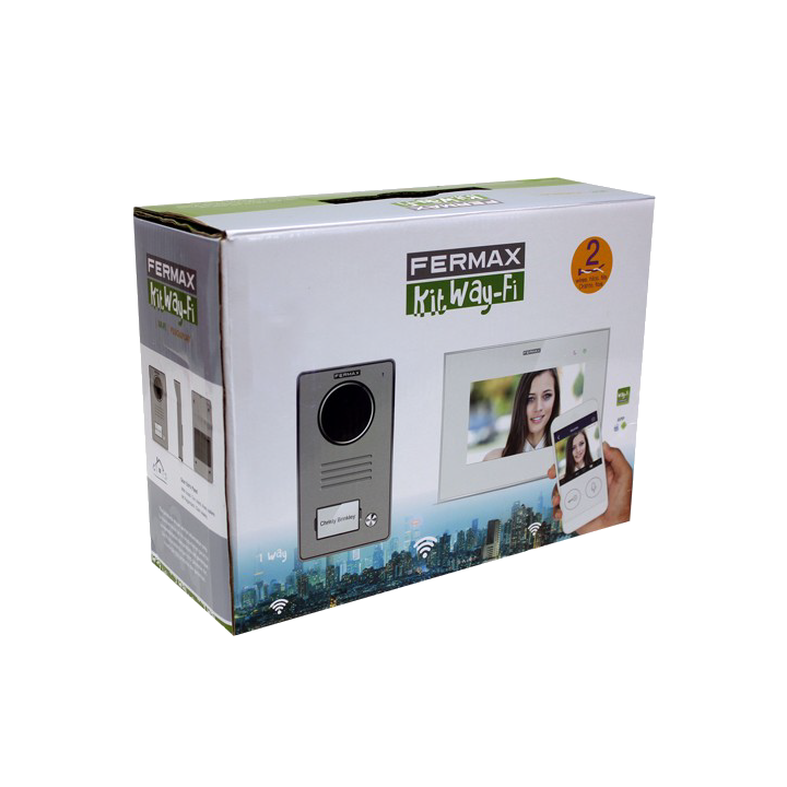 Fermax Kit Vídeo Wi-Fi - 1431 - Instalação a dois fios