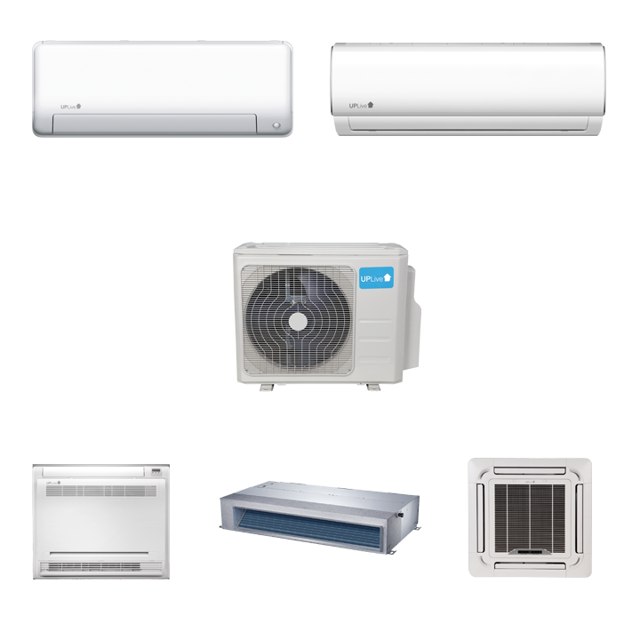 Sistemas MultiSplit Inverter